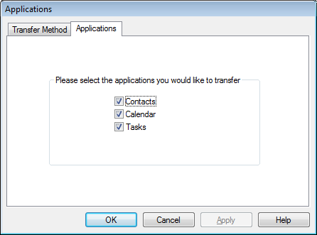 Select Desktop Application