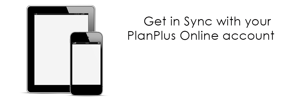Sync with PlanPlus Online