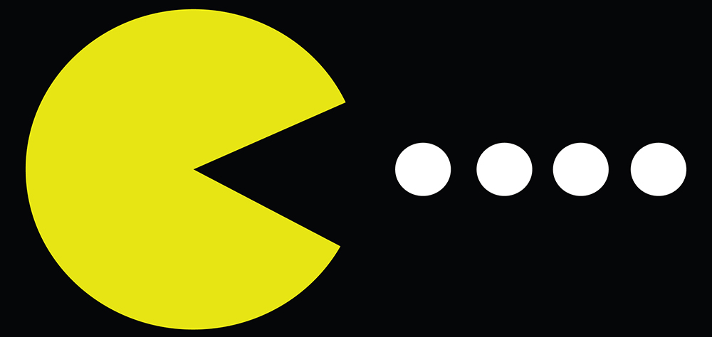 The Pac-Man approach to goal achieving