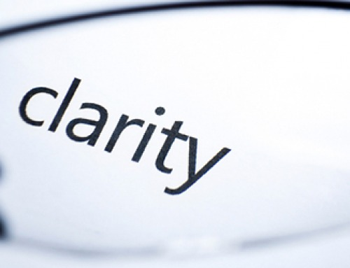 Clarity gives you power and precedes success